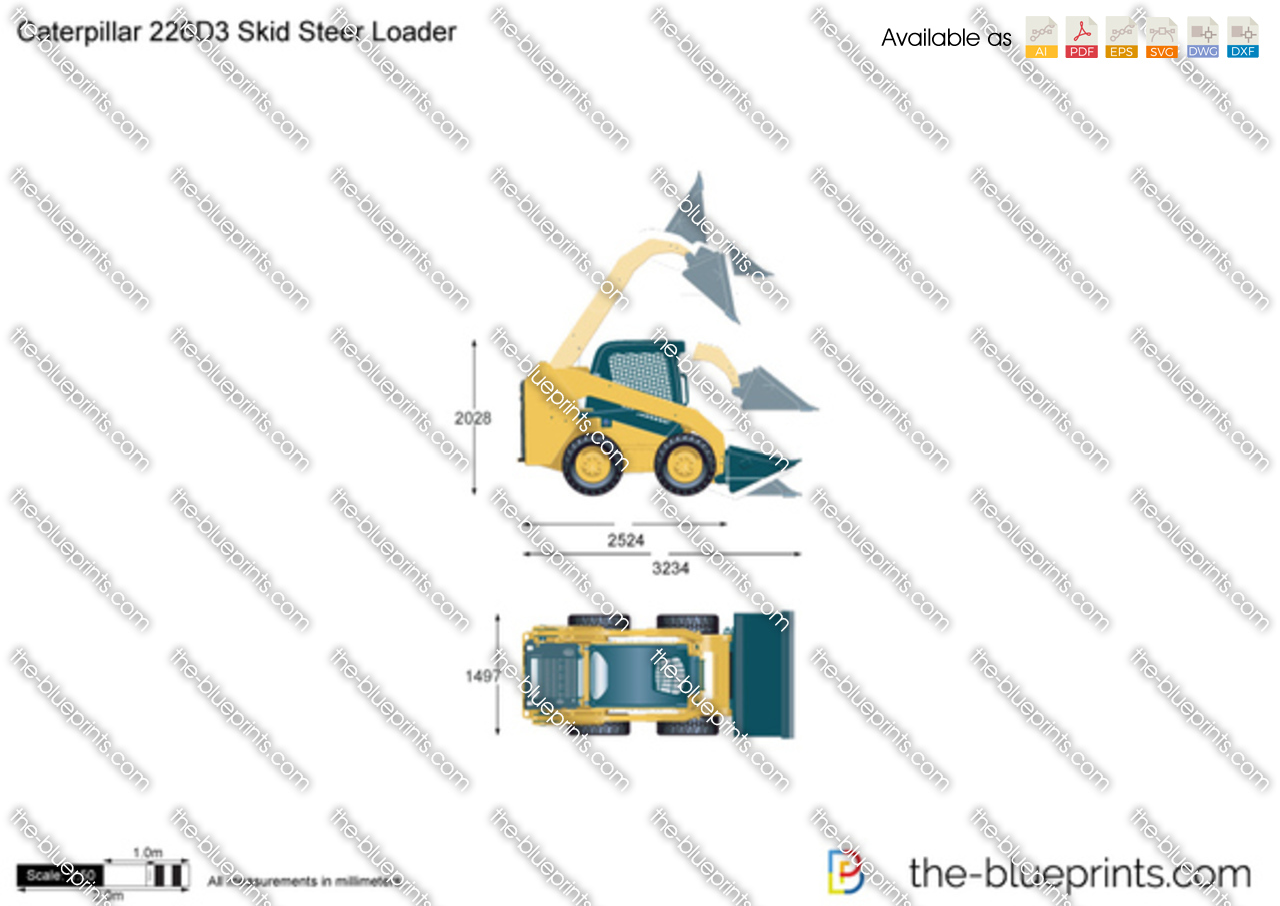 Caterpillar 226D3 Skid Steer Loader