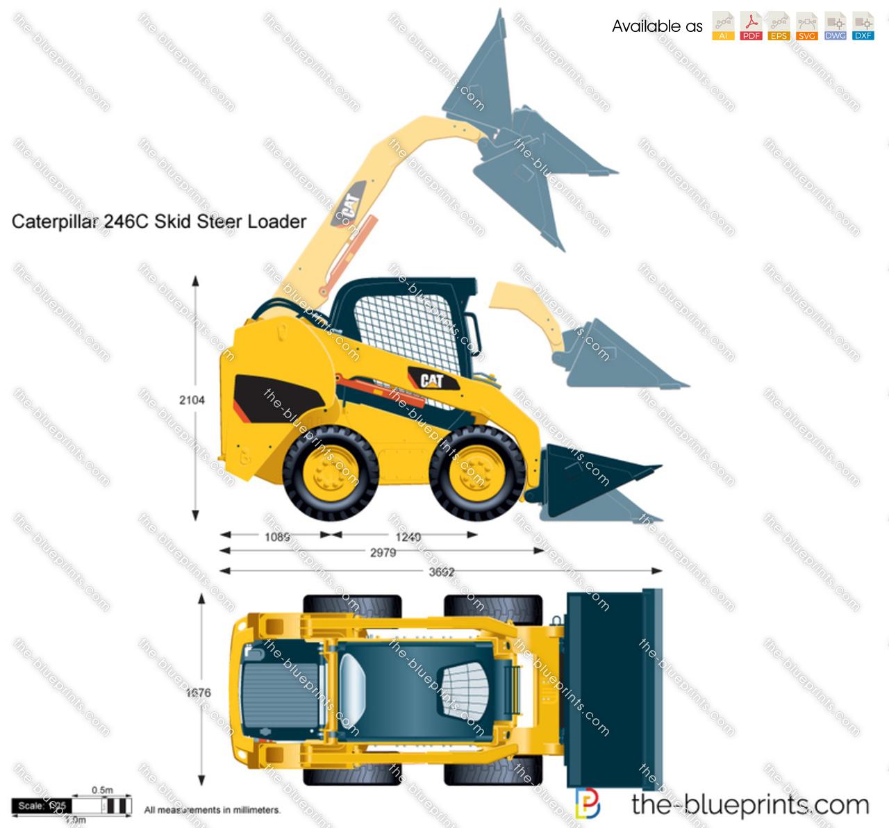 Caterpillar 246C Skid Steer Loader