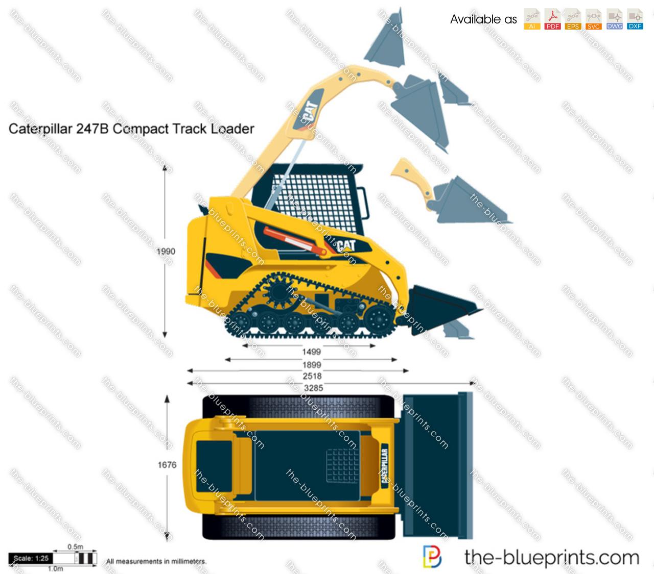 Caterpillar 247B Compact Track Loader