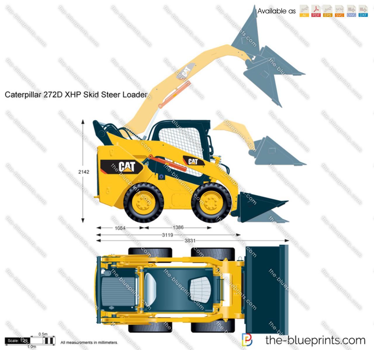 Caterpillar 272D XHP Skid Steer Loader