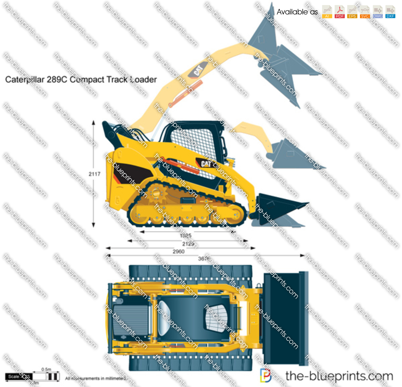 Caterpillar 289C Compact Track Loader