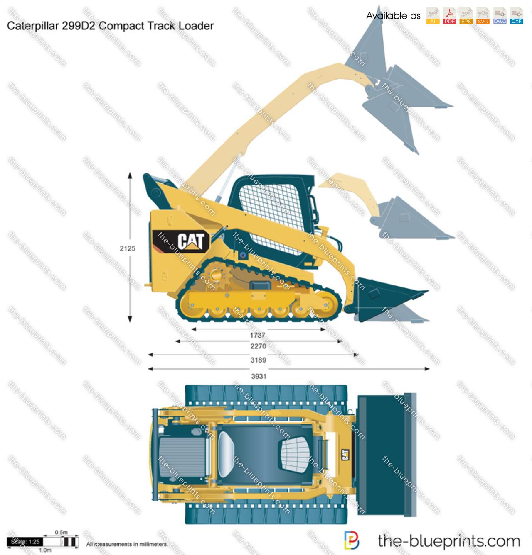 Caterpillar 299D2 Compact Track Loader