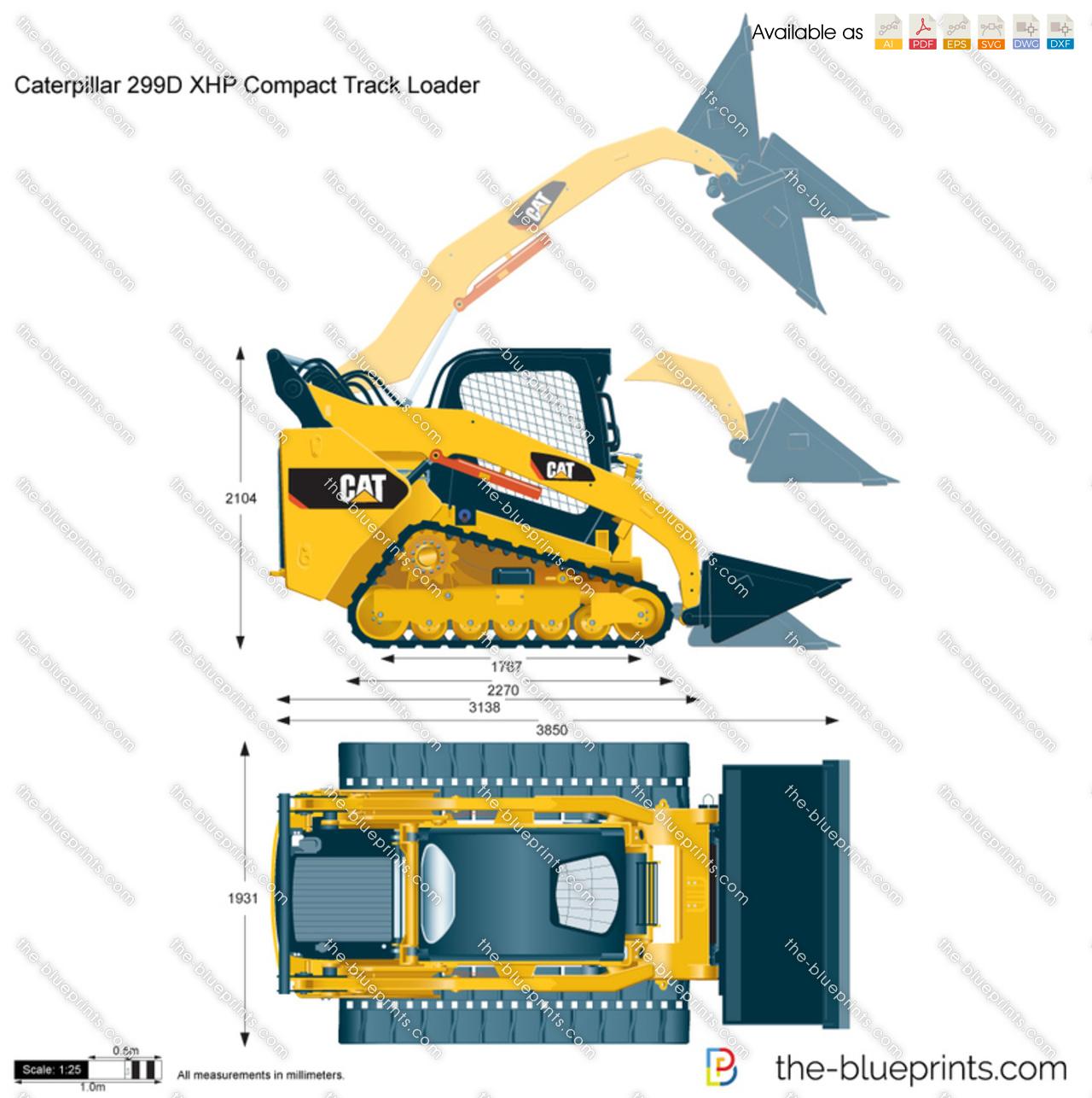 Caterpillar 299D XHP Compact Track Loader