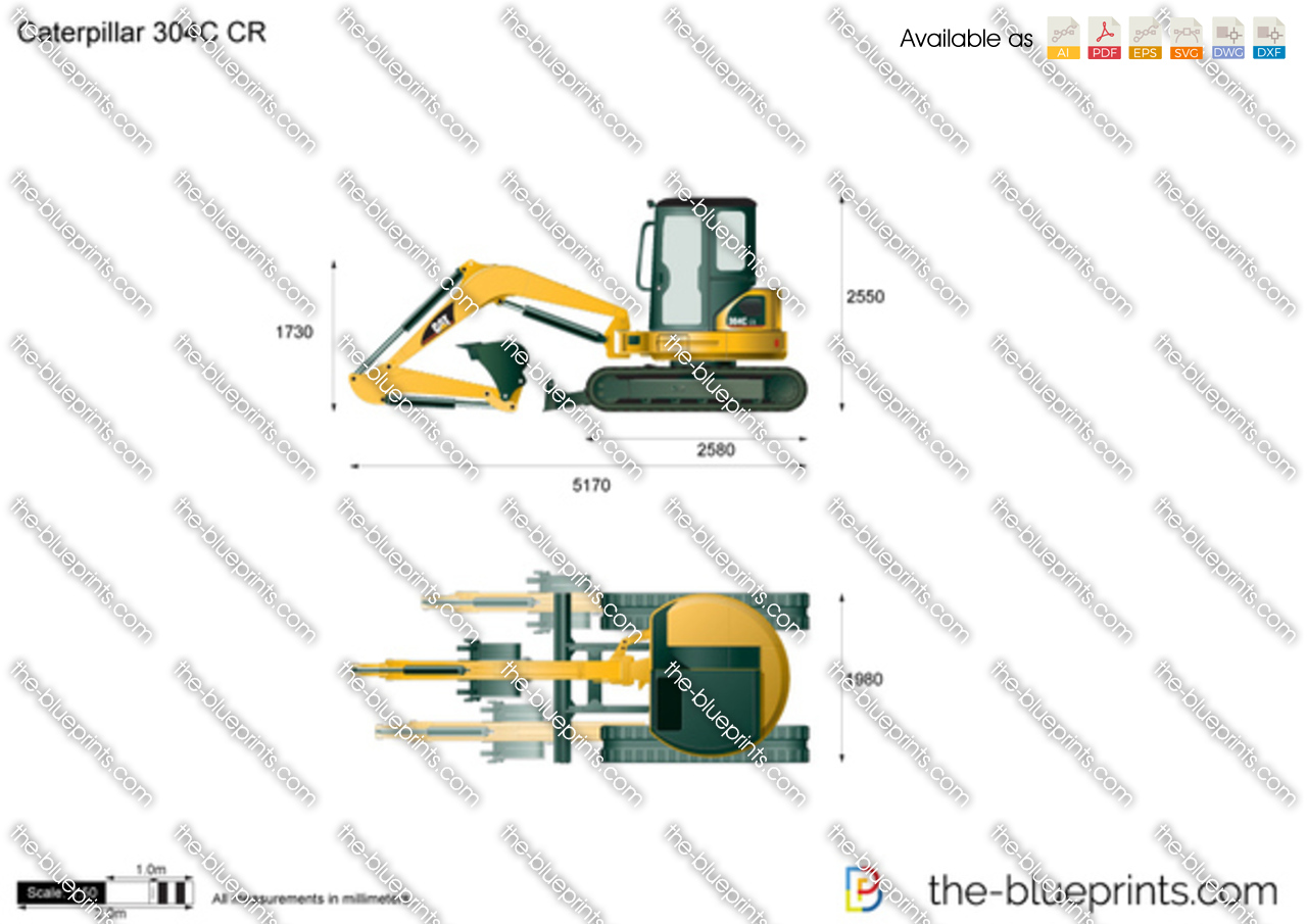 Caterpillar 304C CR Mini Hydraulic Excavator