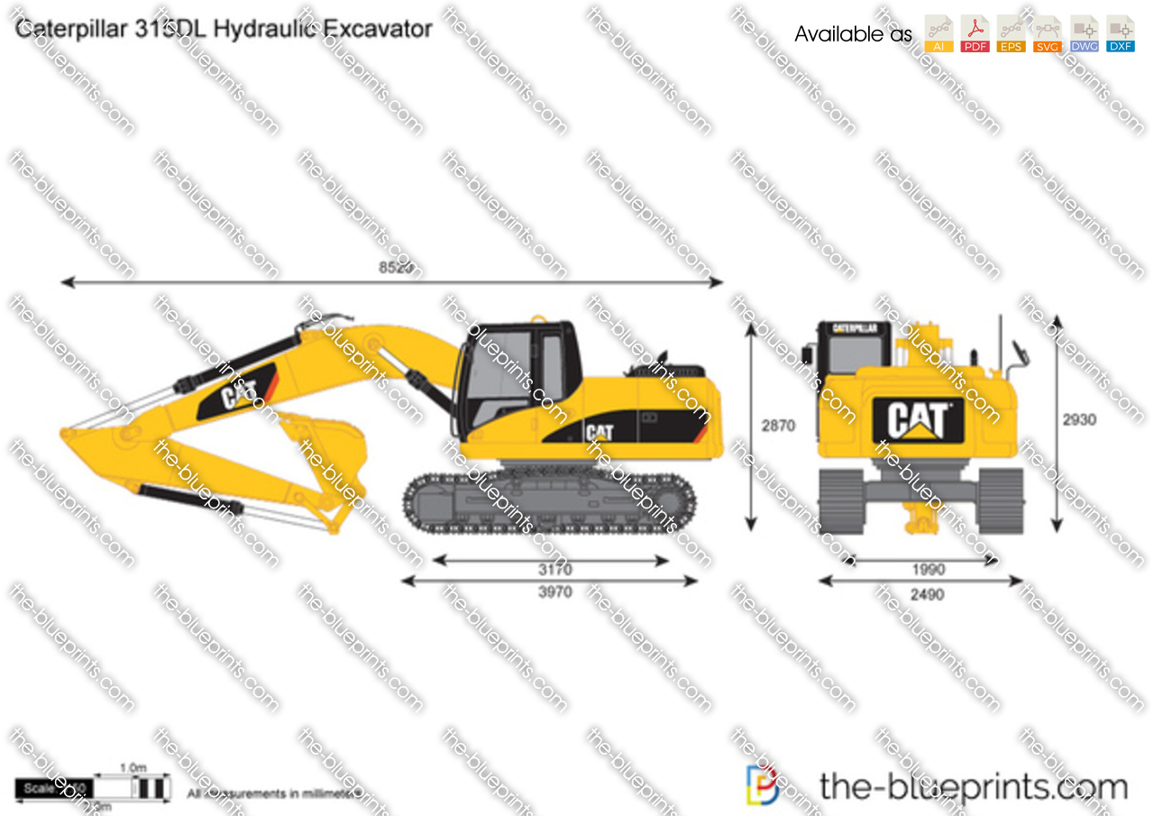 Caterpillar 315DL Hydraulic Excavator