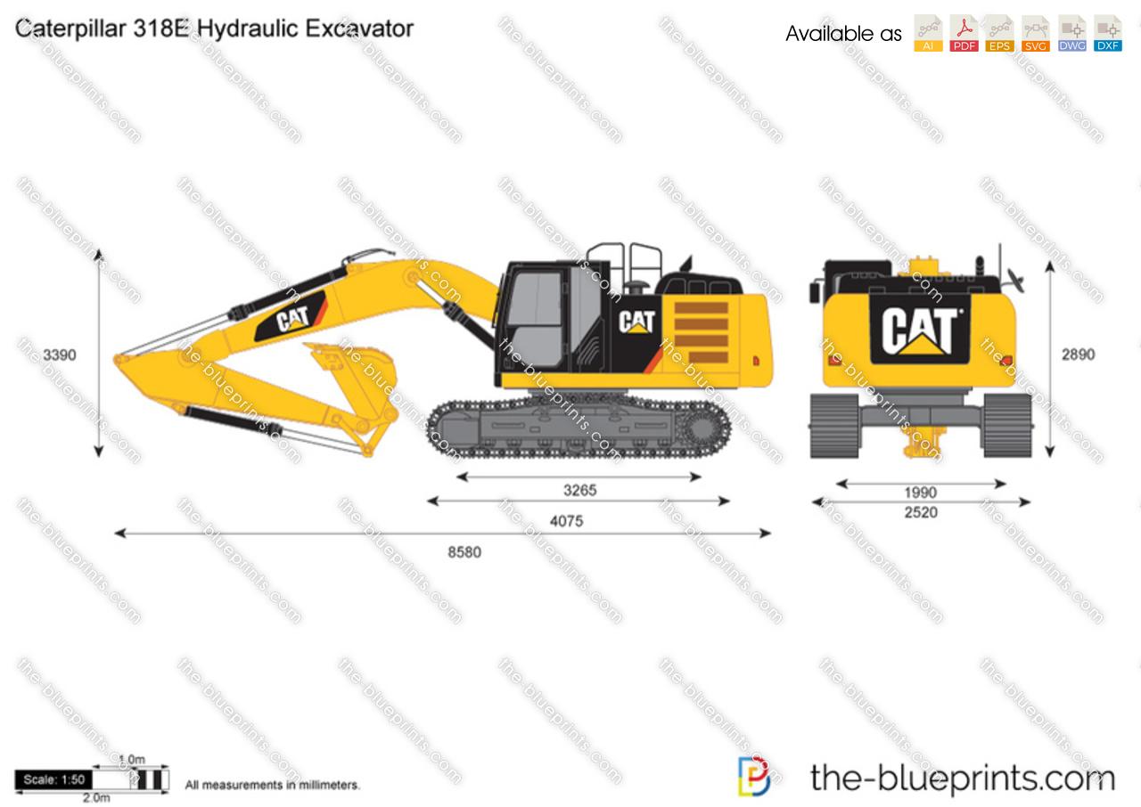 Caterpillar 318E Hydraulic Excavator