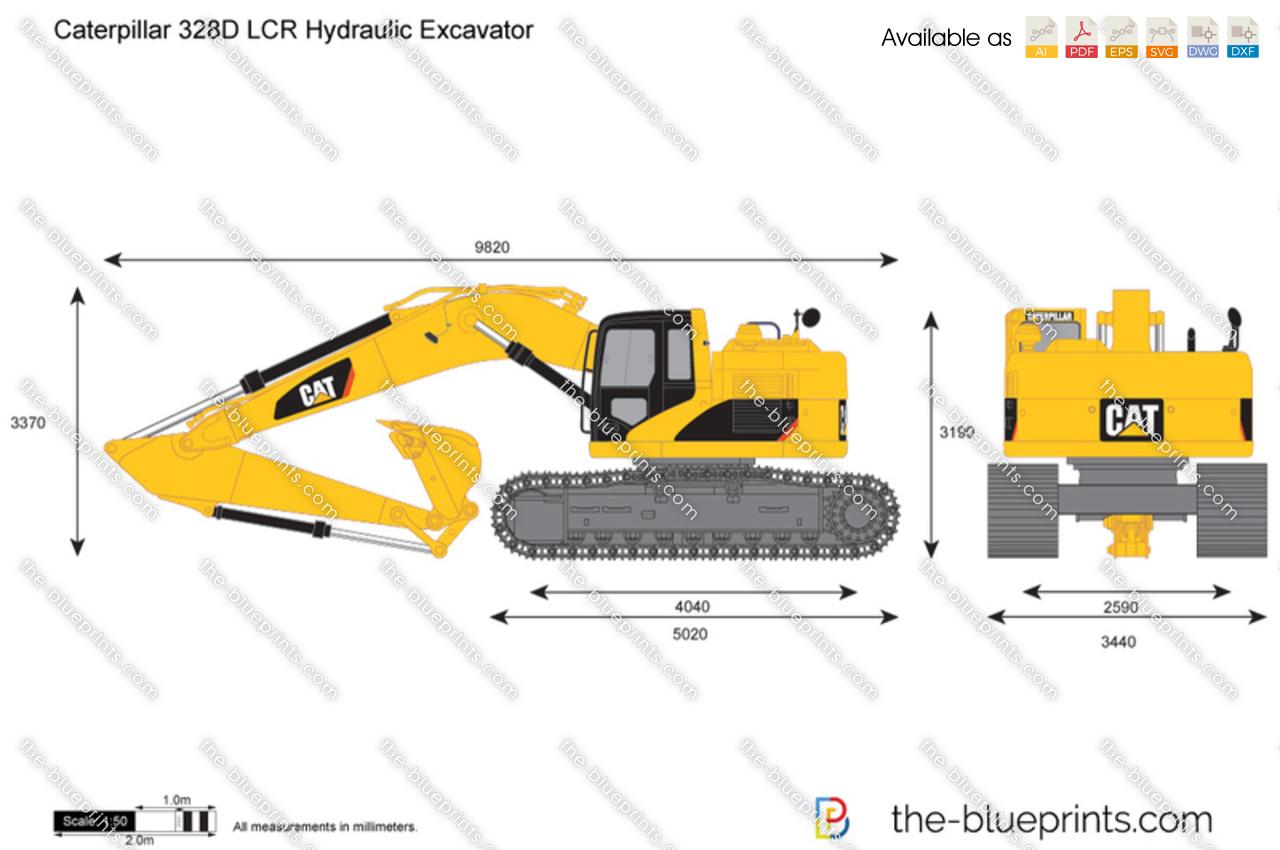 Caterpillar 328D LCR Hydraulic Excavator