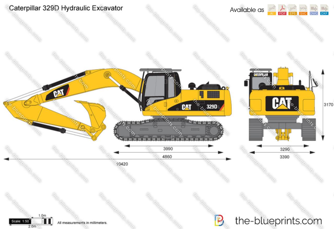 Caterpillar 329D Hydraulic Excavator