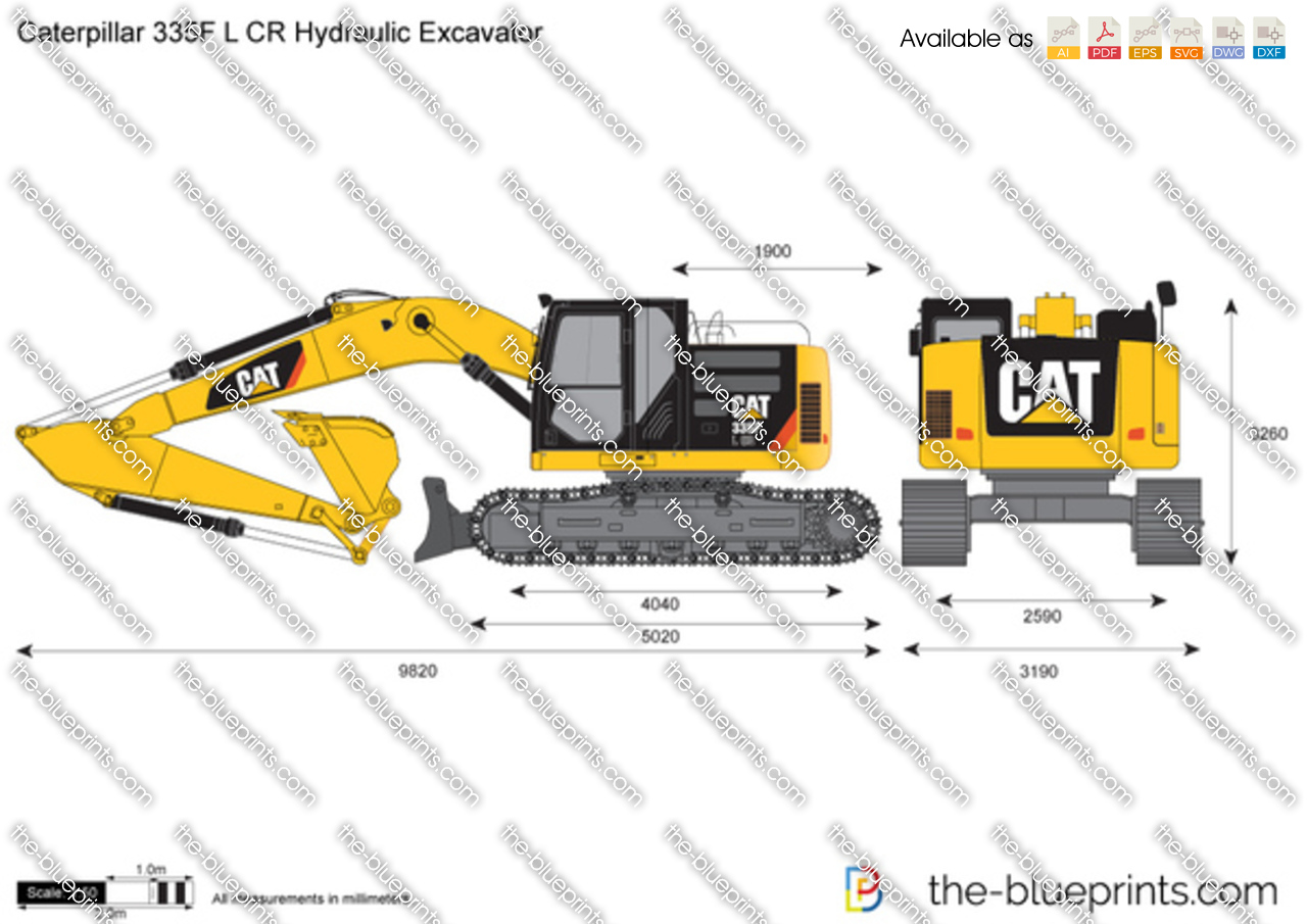 Caterpillar 335F L CR Hydraulic Excavator