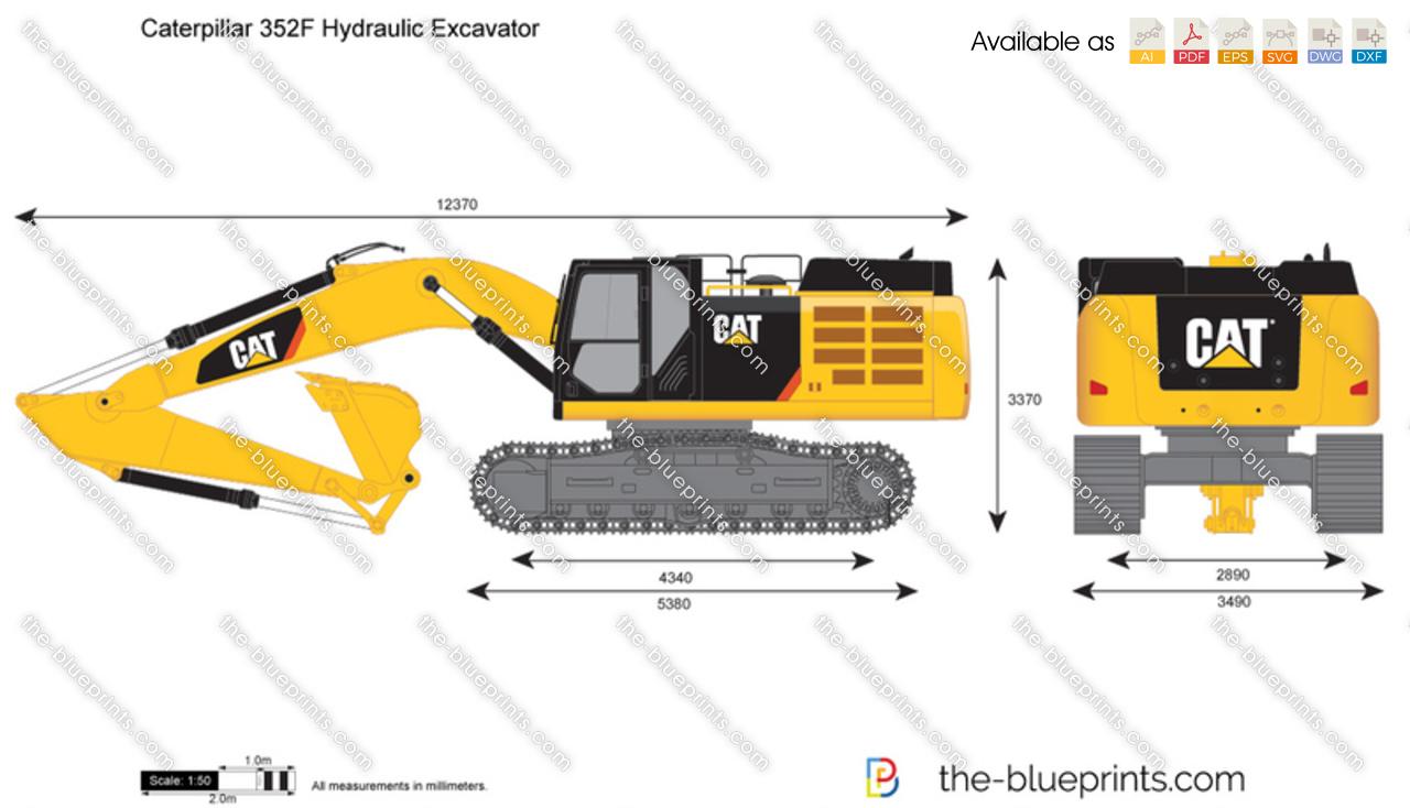 Caterpillar 352F Hydraulic Excavator