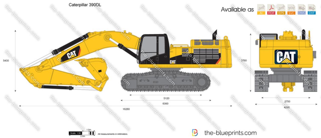 Caterpillar 390DL Hydraulic Excavator