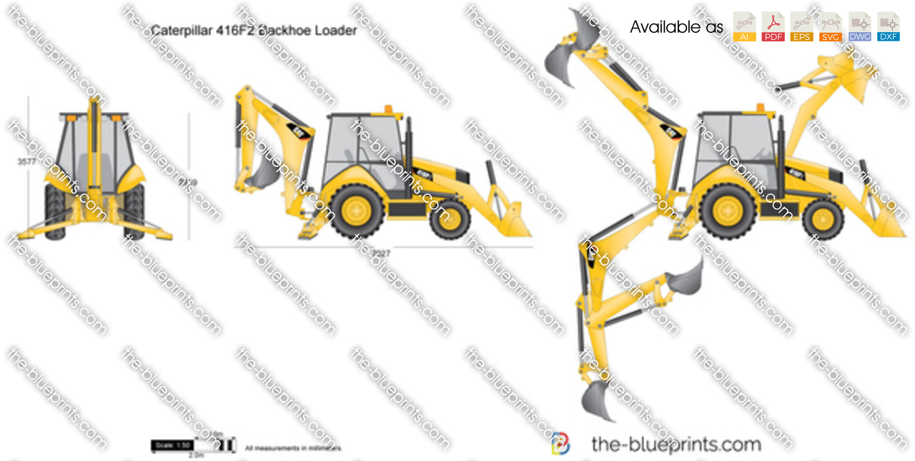 Caterpillar 416F2 Backhoe Loader