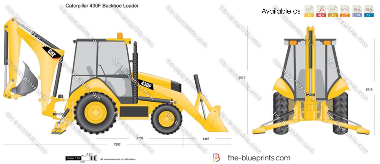 Caterpillar 430F Backhoe Loader