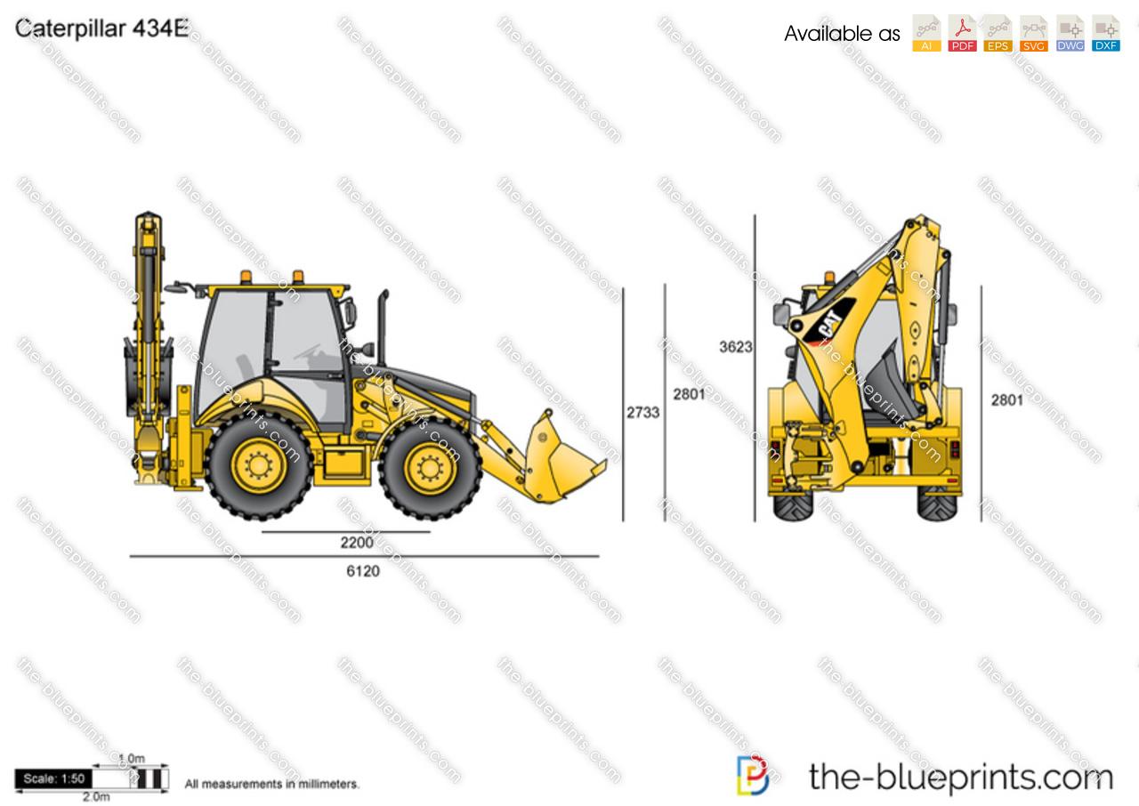 Caterpillar 434E Backhoe Loader