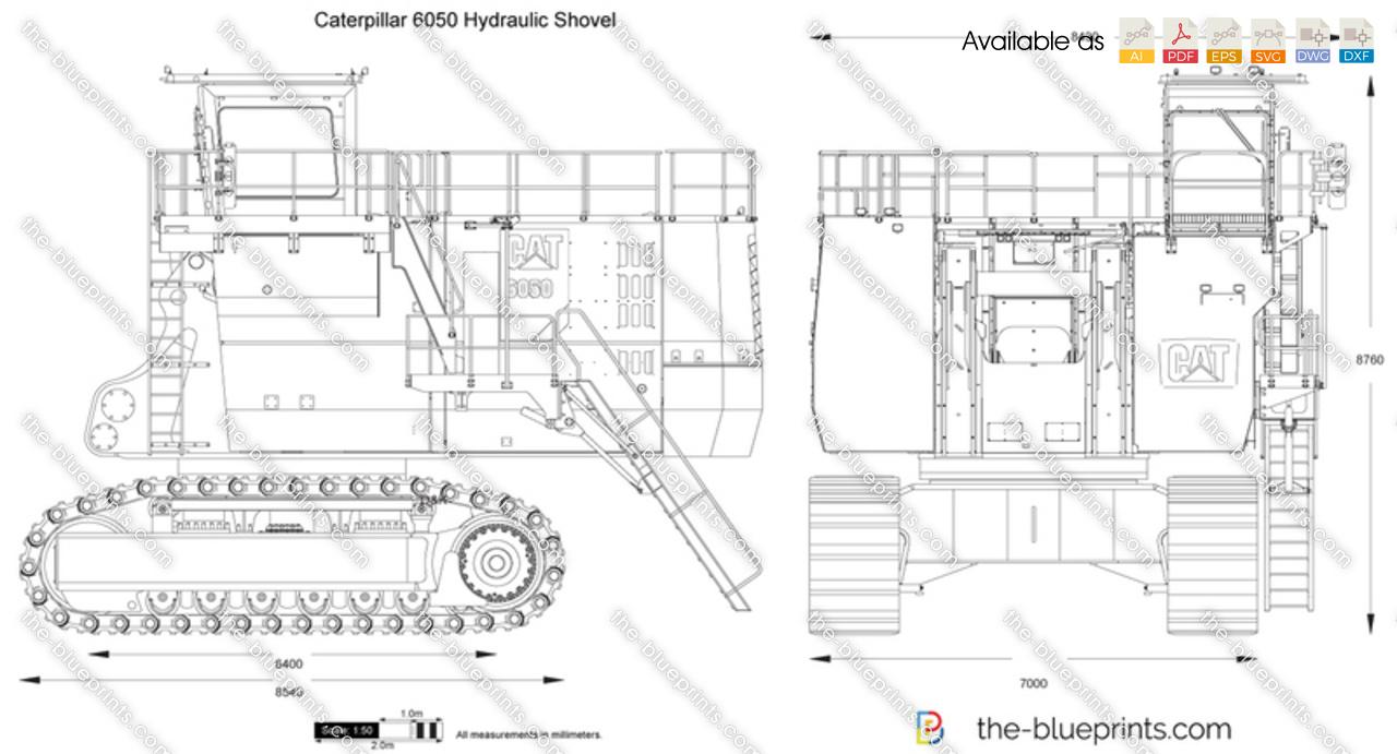 Caterpillar 6050 Hydraulic Shovel