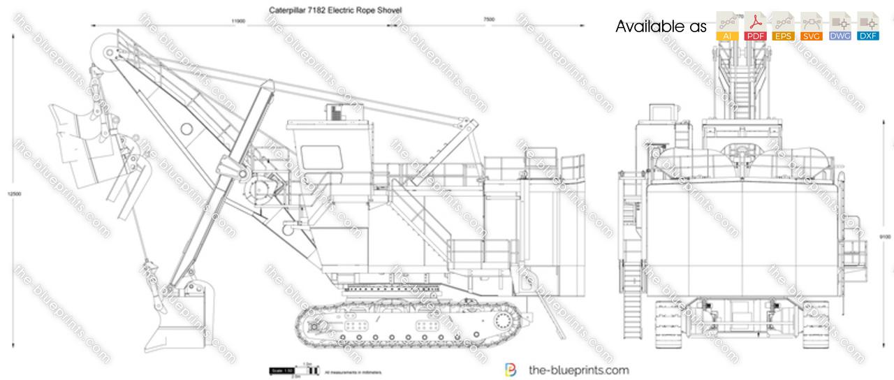 Caterpillar 7182 Electric Rope Shovel