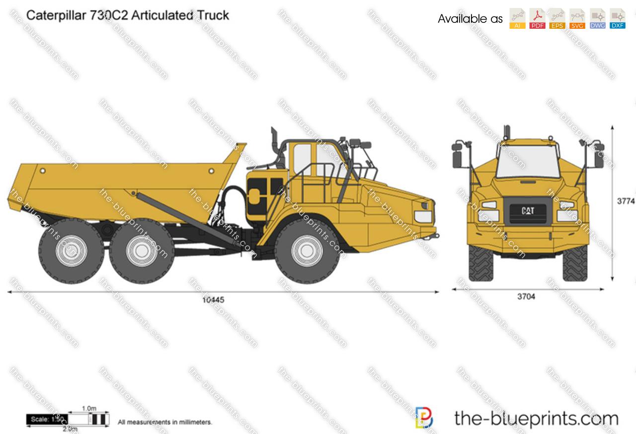 Caterpillar 730C2 Articulated Truck