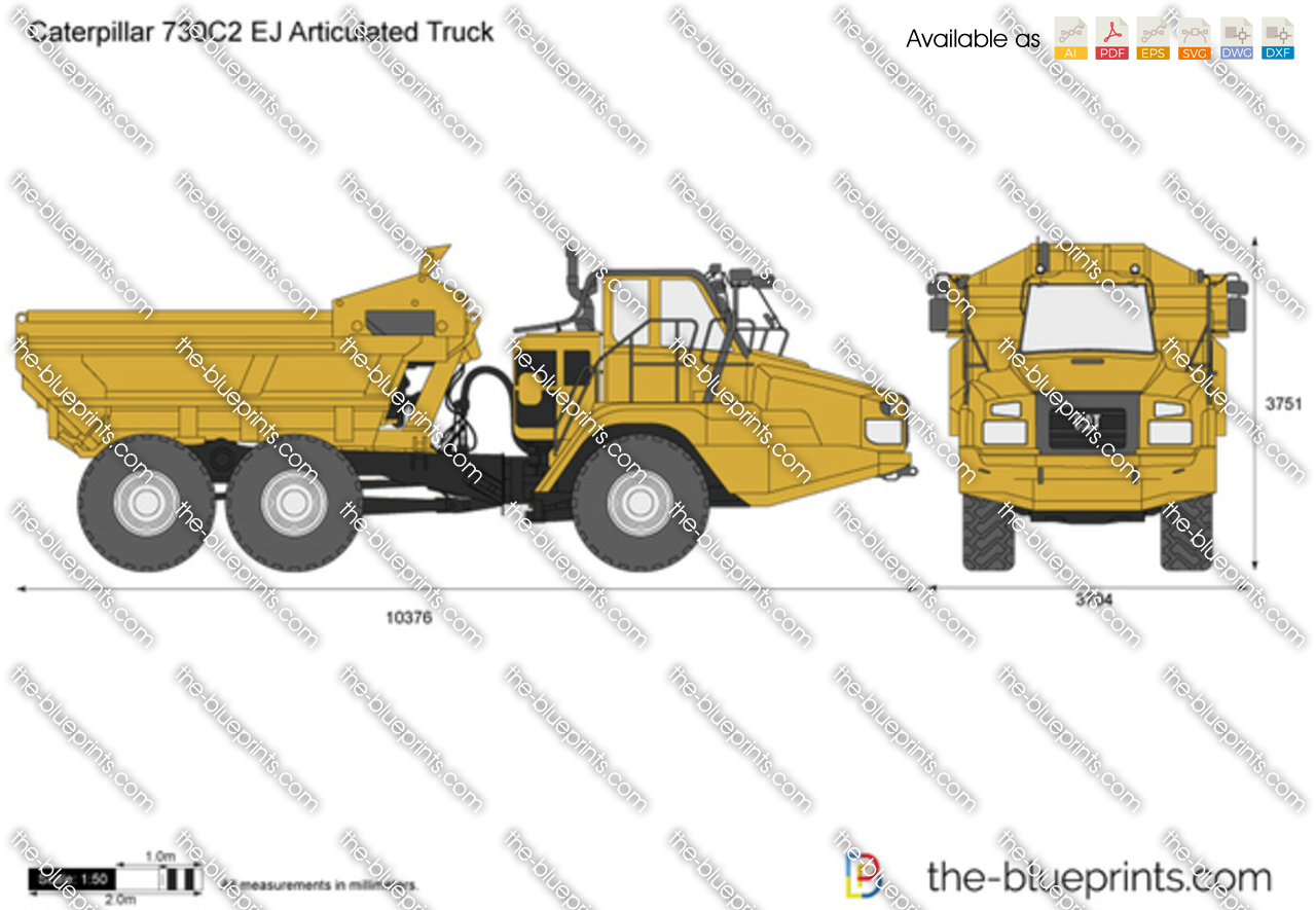 Caterpillar 730C2 EJ Articulated Truck