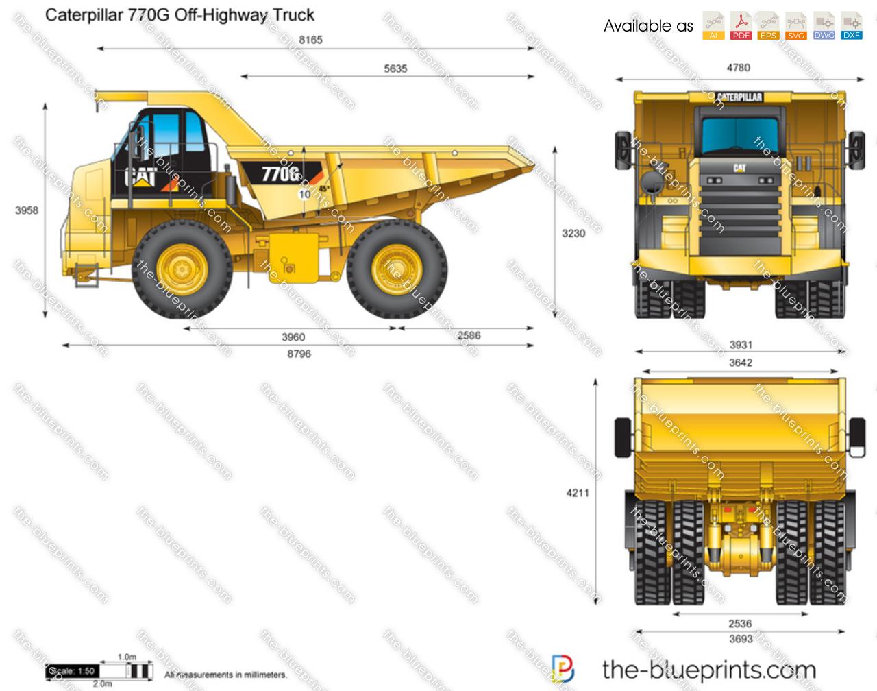 Caterpillar 770G Off-Highway Truck