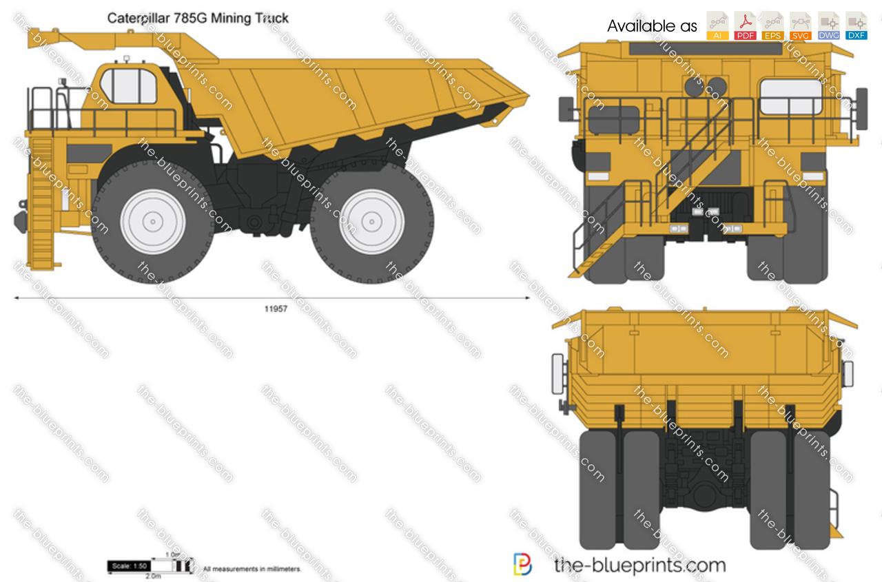 Caterpillar 785G Mining Truck