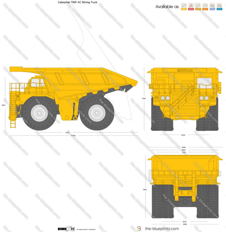Caterpillar 795F AC Mining Truck