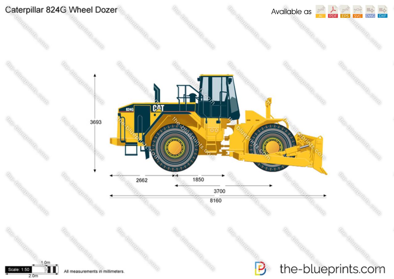 Caterpillar 824G Wheel Dozer