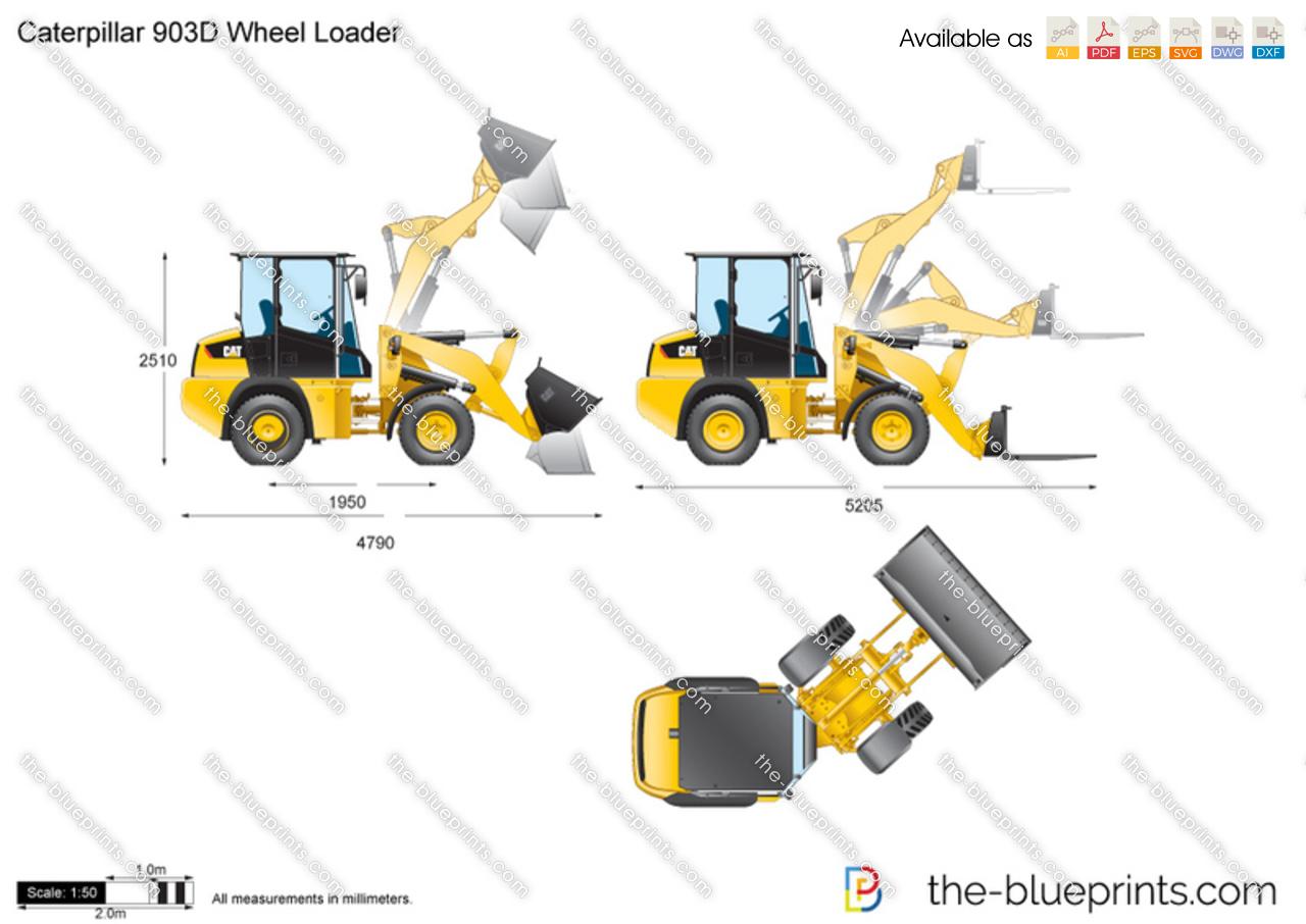 Caterpillar 903D Wheel Loader