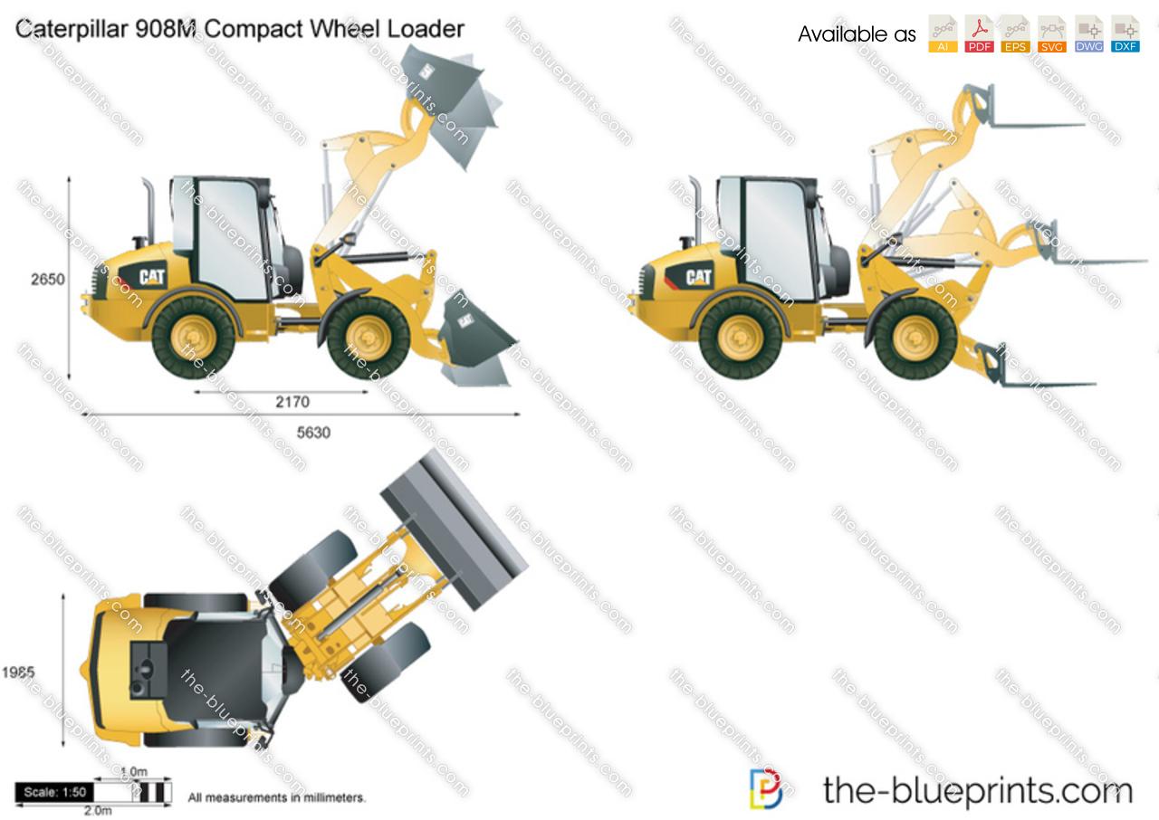 Caterpillar 908M Compact Wheel Loader