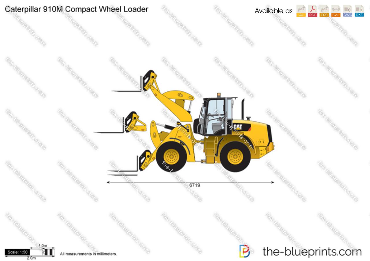 Caterpillar 910M Compact Wheel Loader