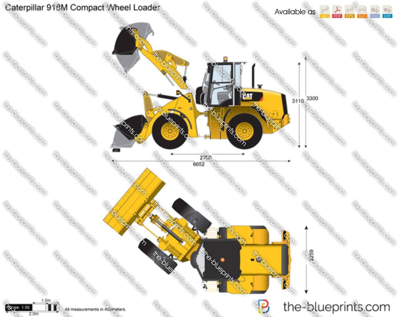 Caterpillar 918M Compact Wheel Loader