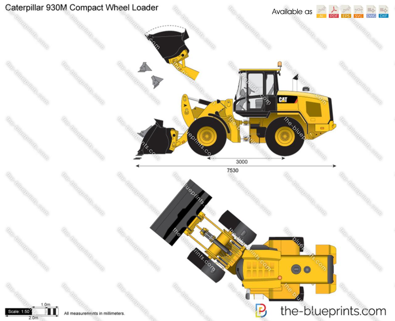 Caterpillar 930M Compact Wheel Loader