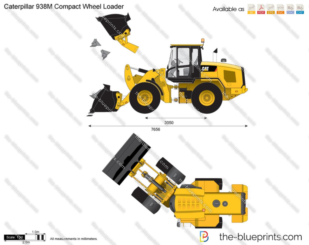 Caterpillar 938M Compact Wheel Loader