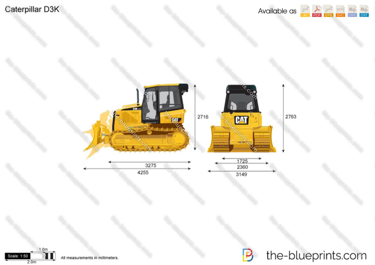 Caterpillar D3K Track-Type Tractor