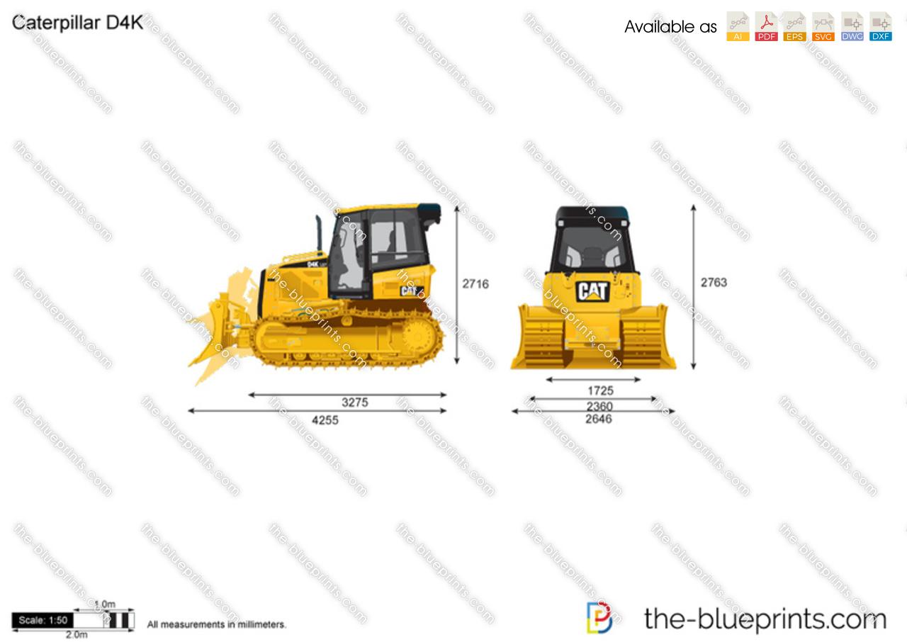 Caterpillar D4K Track-Type Tractor
