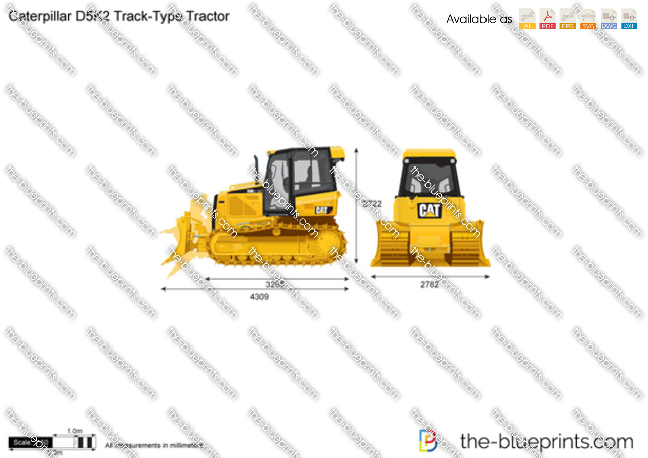 Caterpillar D5K2 Track-Type Tractor