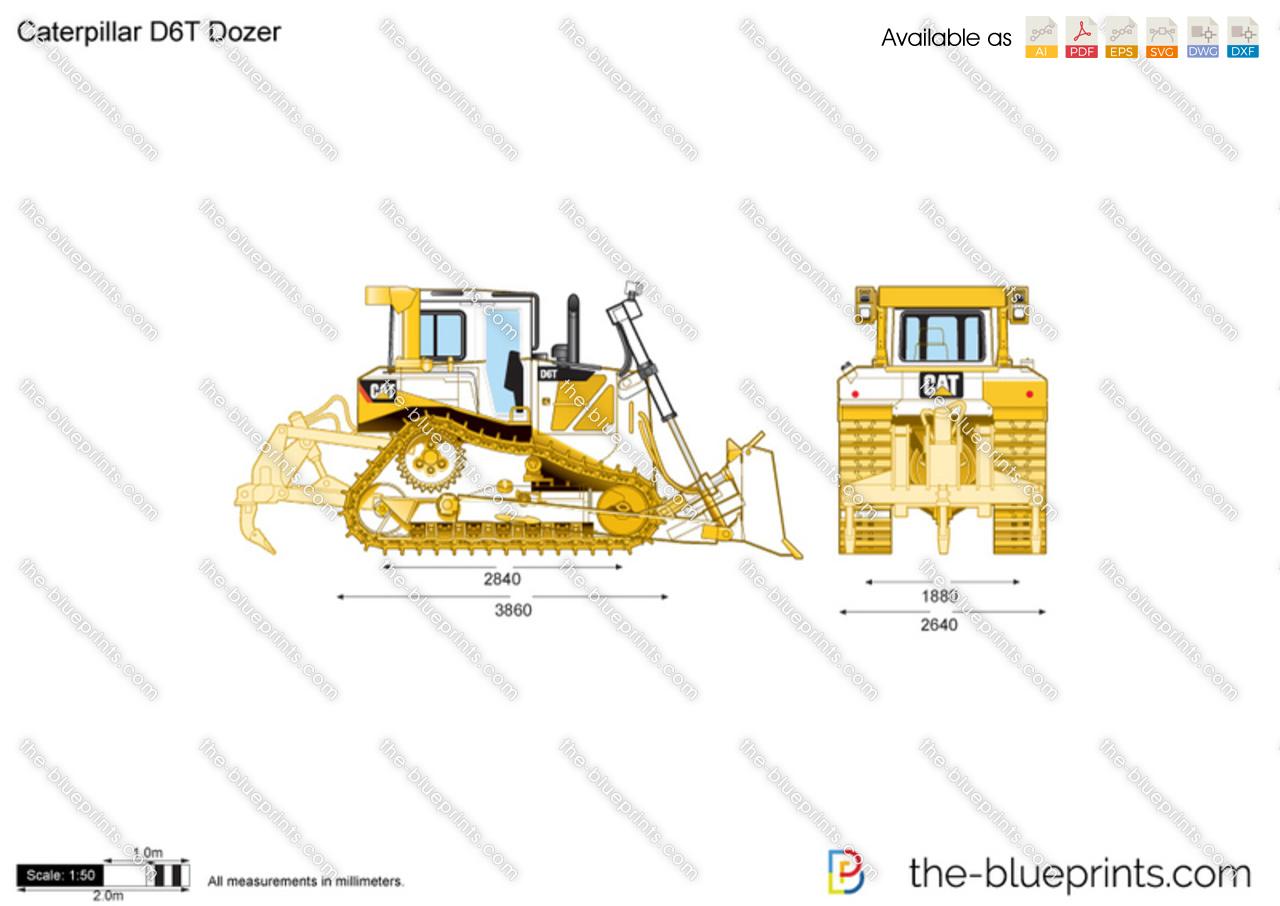 Caterpillar D6T Dozer