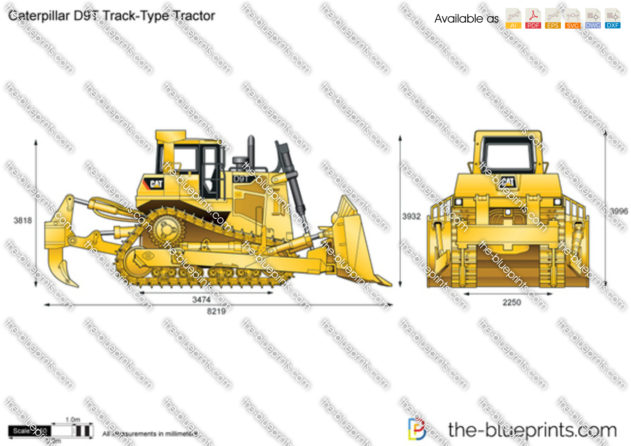 Caterpillar D9T Track-Type Tractor