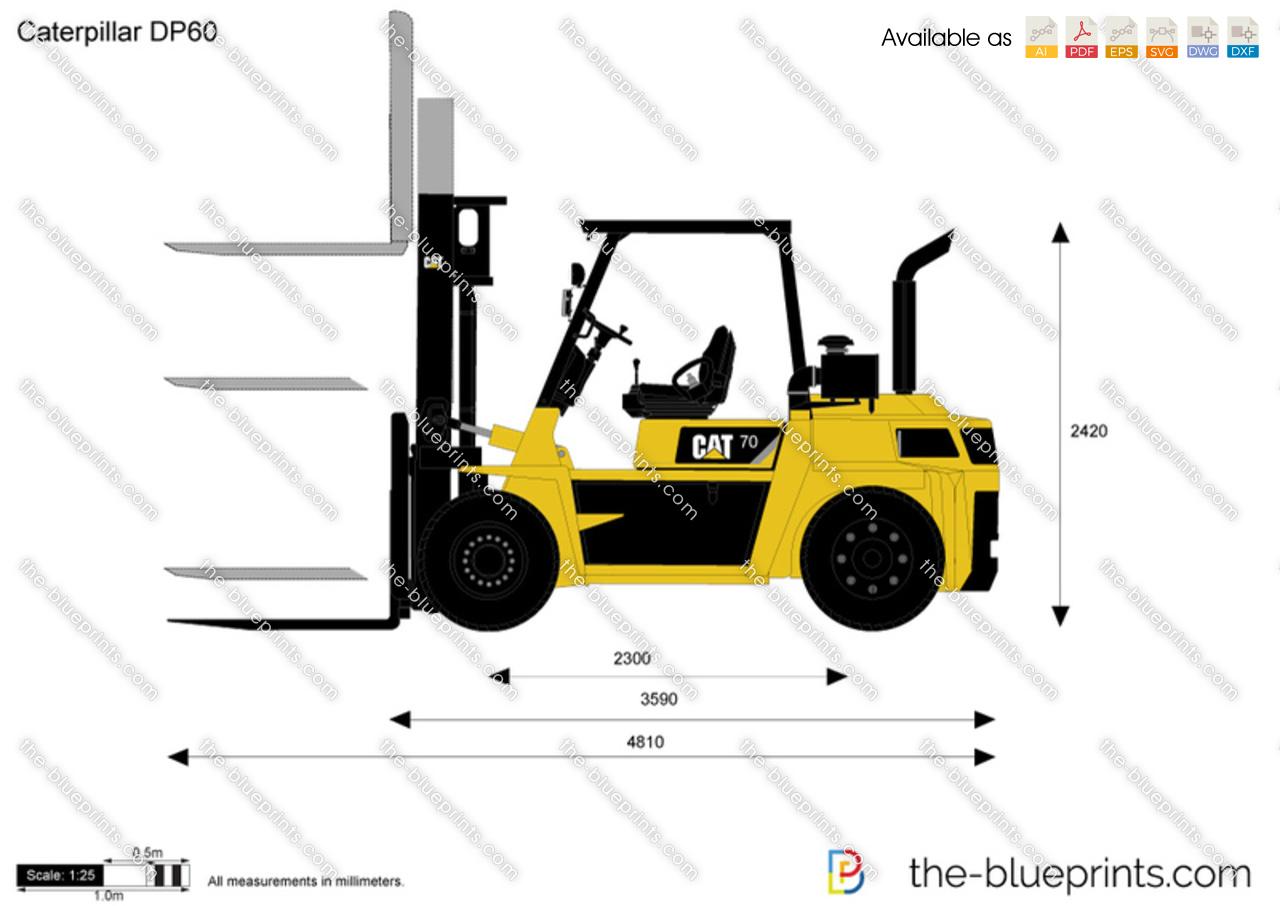 Caterpillar DP60 Lift Truck