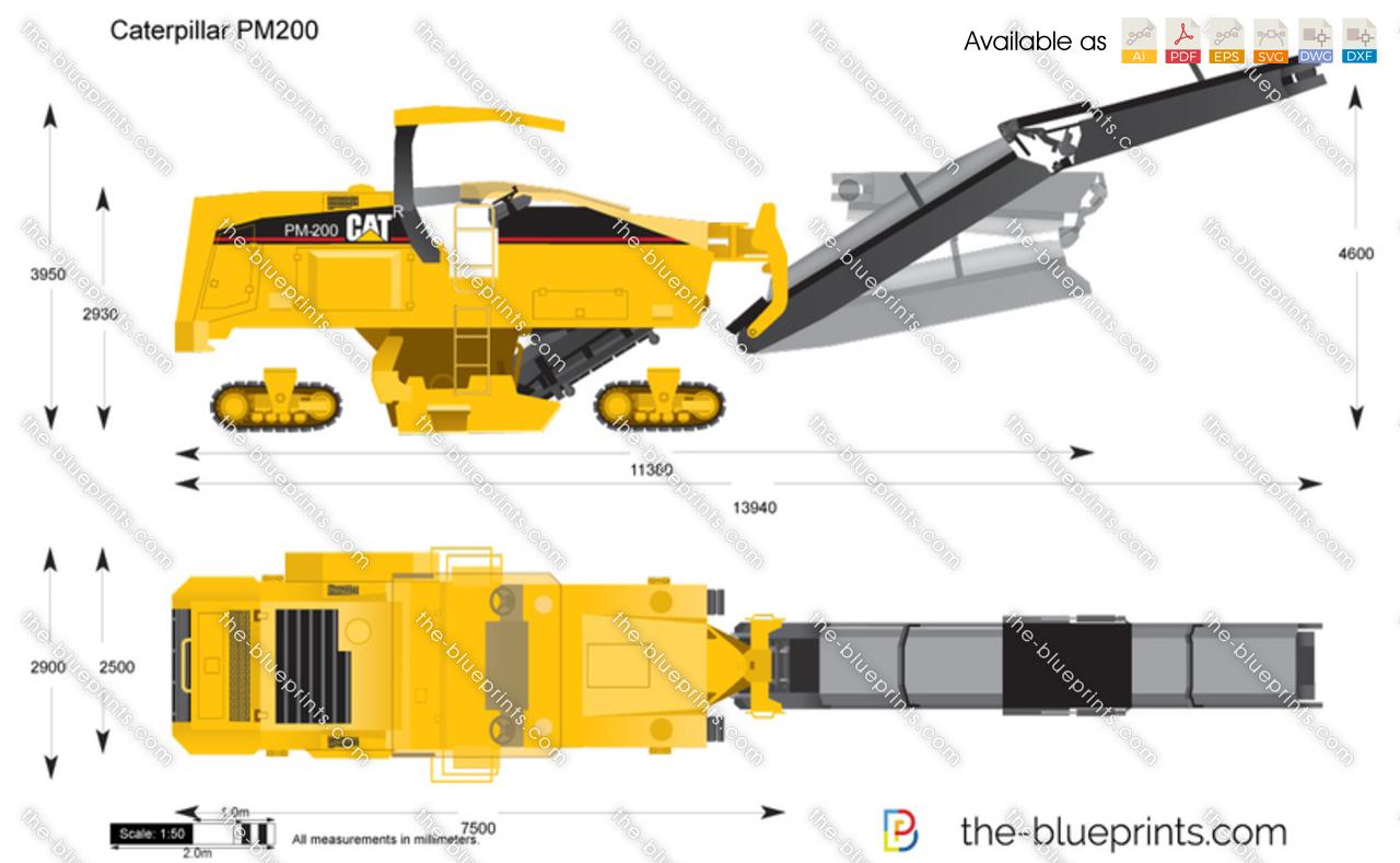 Caterpillar PM200 Cold Planer