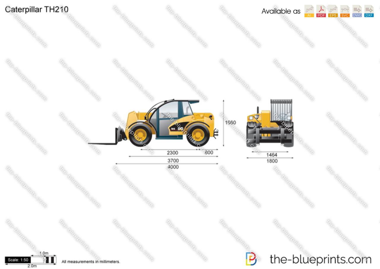 Caterpillar TH210 Telehandler