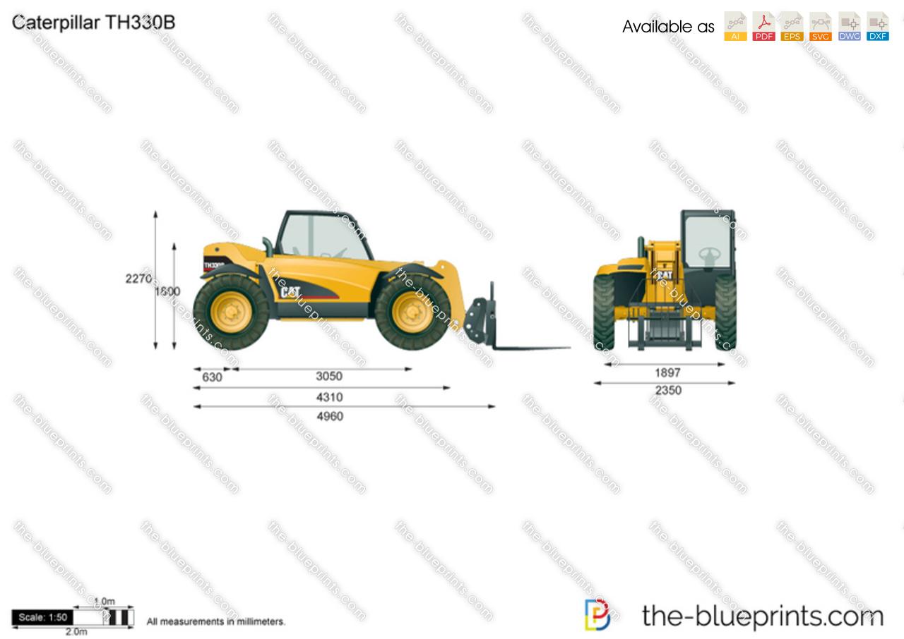 Caterpillar TH330B Telehandler