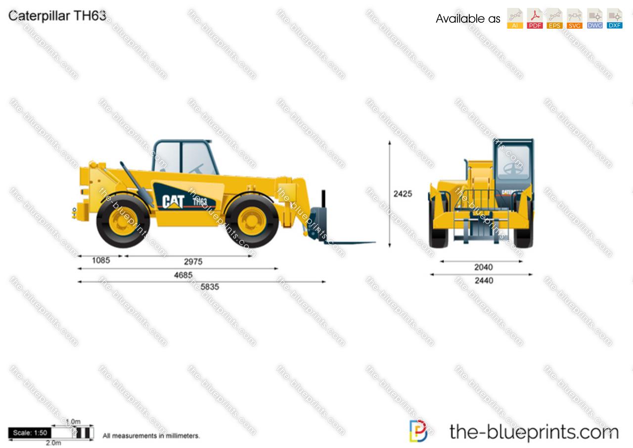 Caterpillar TH63 Telehandler