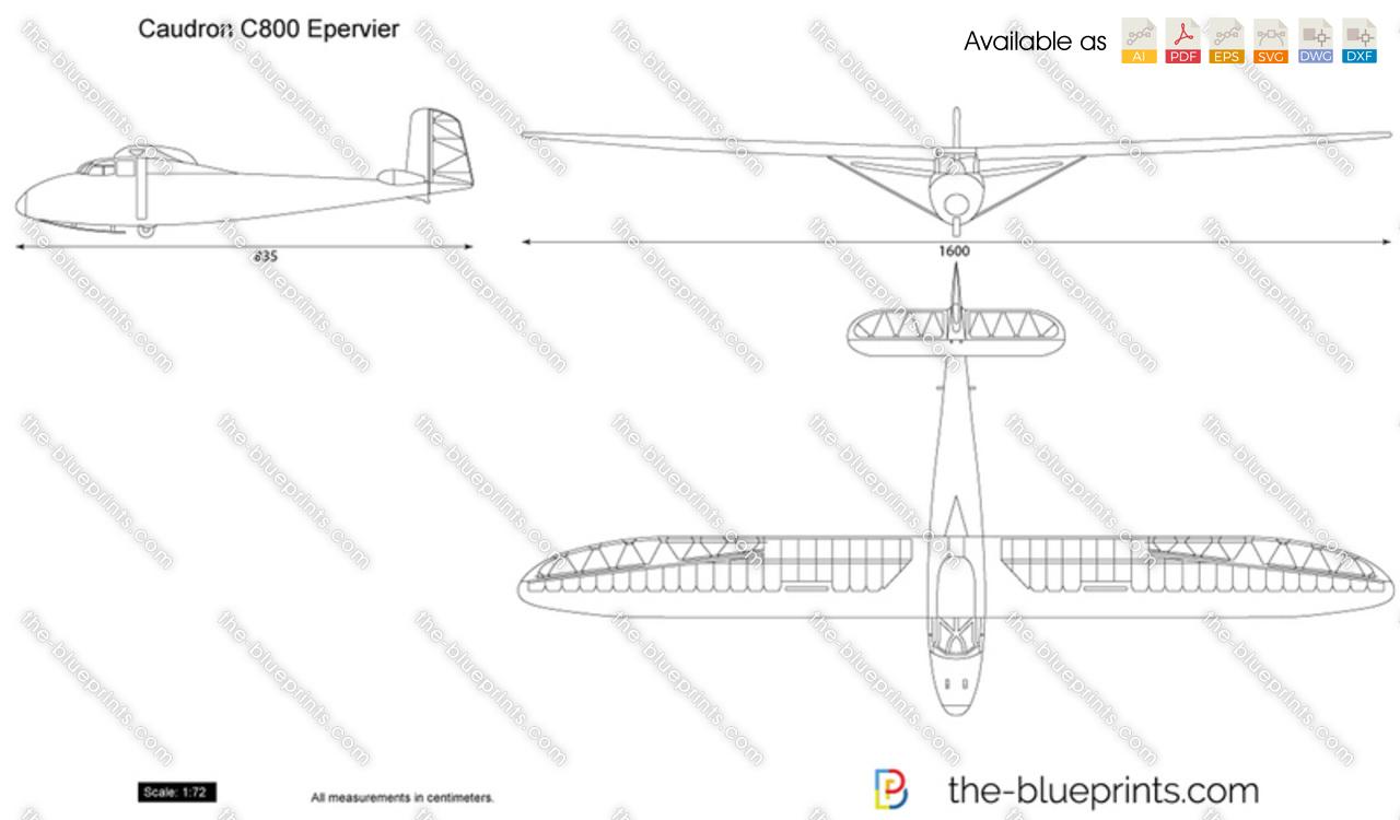 Caudron C800 Epervier