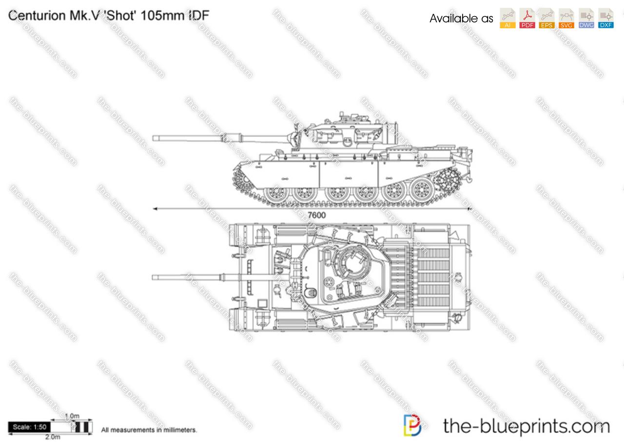 Centurion Mk.V 'Shot' 105mm IDF