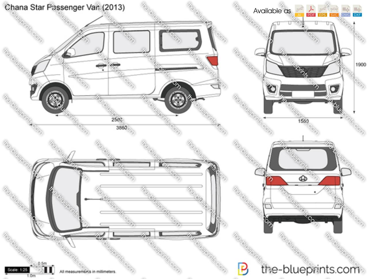 Chana Star Passenger Van