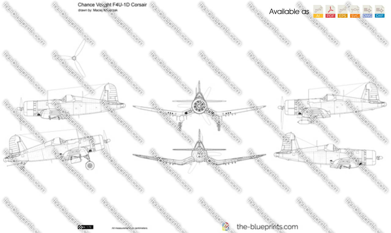 Chance Vought F4U-1D Corsair