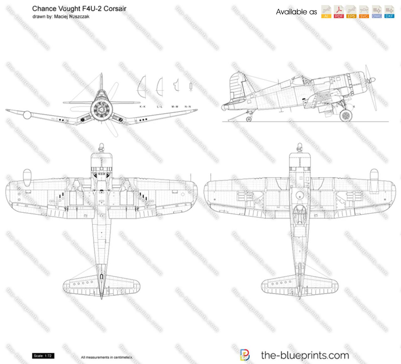 Chance Vought F4U-2 Corsair