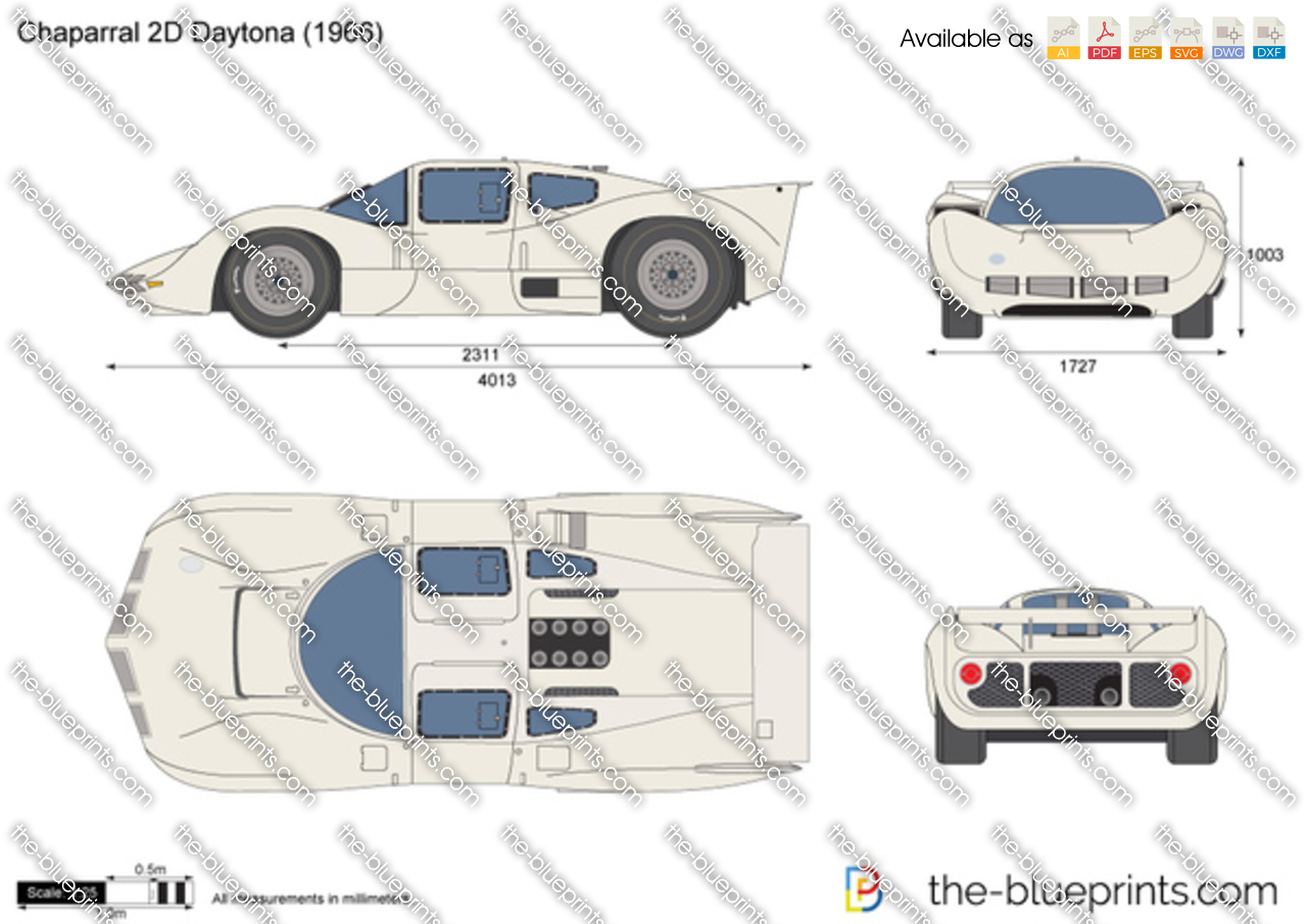 Chaparral 2D Daytona