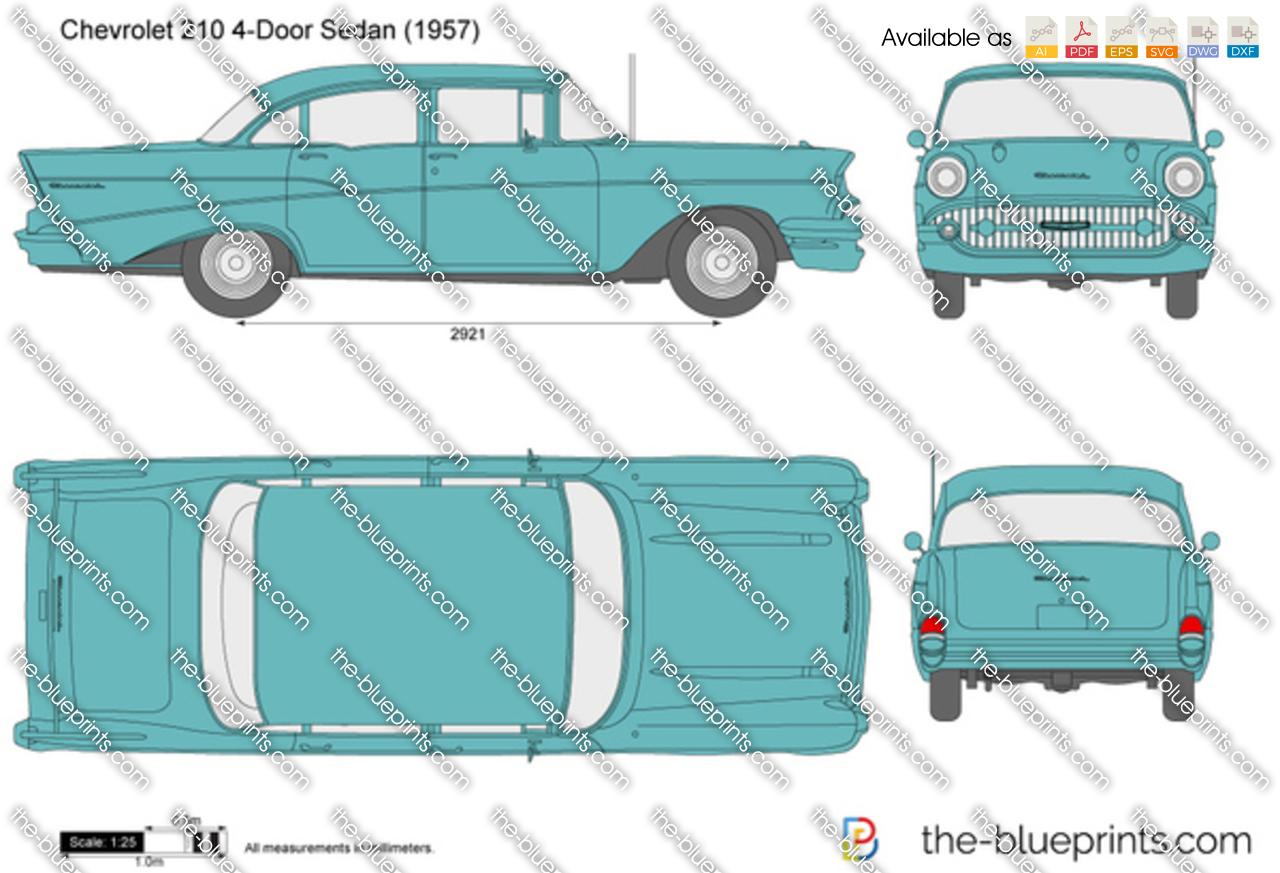 Chevrolet 210 4-Door Sedan