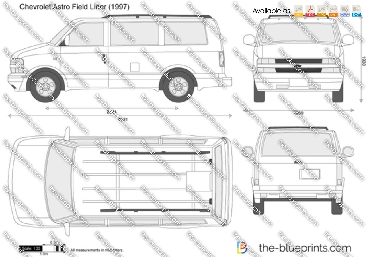 Chevrolet Astro Field Liner 1998